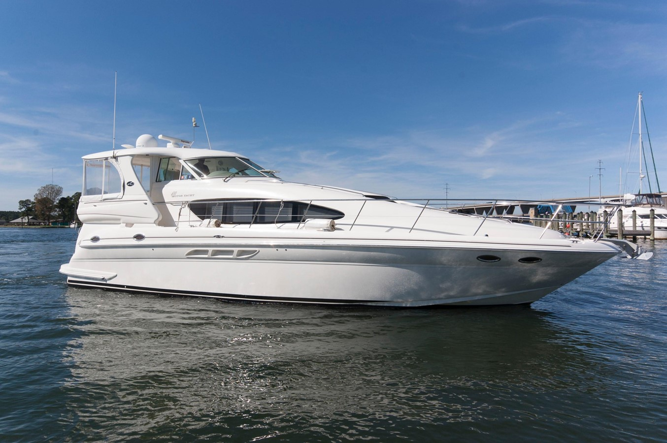 2004 sea ray 480 motor yacht for Ocean yachts 48 motor yacht for sale