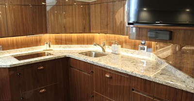 Viking 48 Open Yacht Galley