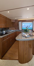 Viking 48 Convertible Yacht Galley