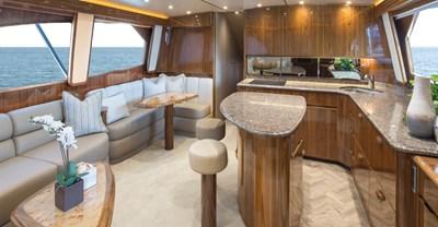 Viking 62 Convertible Yacht Salon