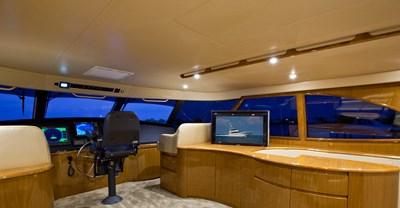 Viking 82 Enclosed Bridge Yacht Bridge