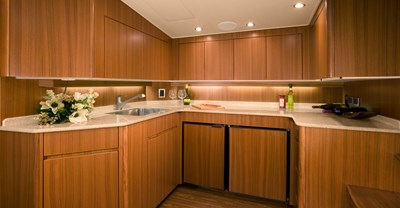Viking 46 Open Yacht Galley