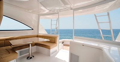 Viking 52 ST Yacht Helm Seating