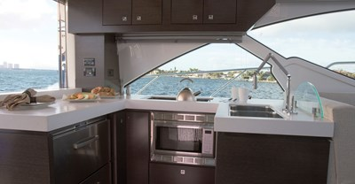 New Cruisers 54 Cantius Yacht galley