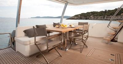 New Prestige 750 Yacht Cockpit