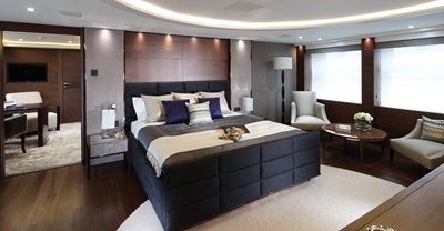 New Princess 40M Yacht Master Stateroom