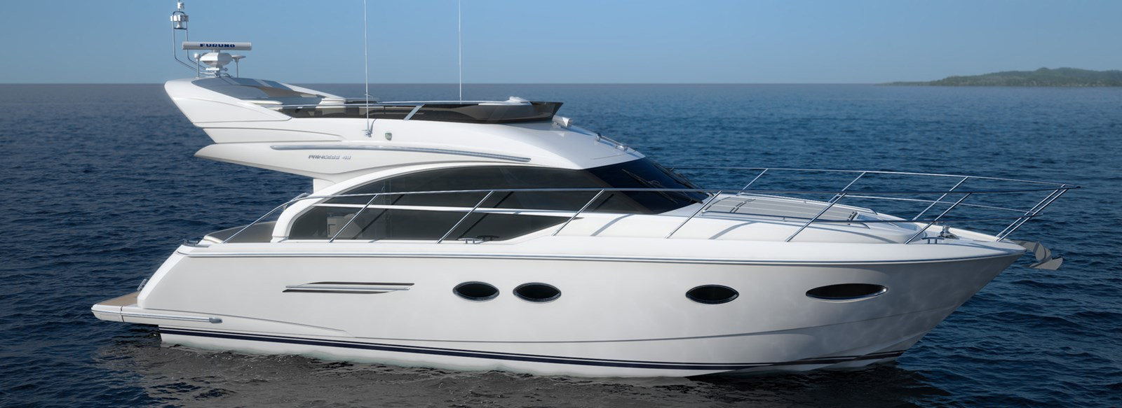 New Princess 43 Flybridge Yachts For Sale