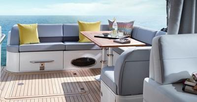 New Princess V52 Yacht Cockpit