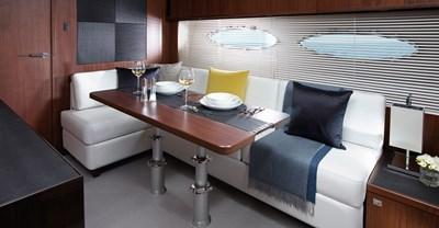New Princess V52 Yacht Lower Salon