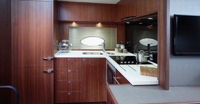 Princess V72 Master Galley
