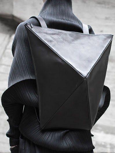 #bags #geometrical #inspo Geometric  Backpack - By  Konstantin Kofta