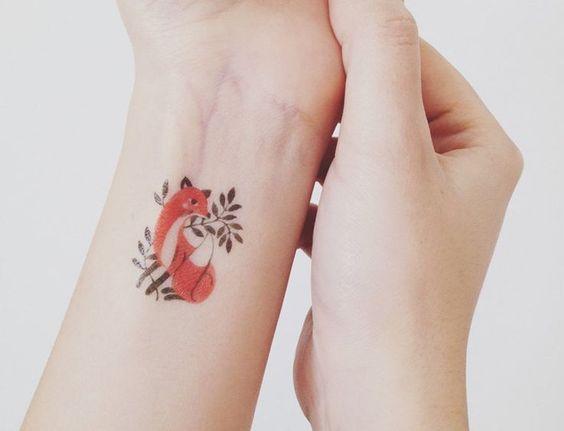 #tatoo #inspo #fox Tattoo Inspo