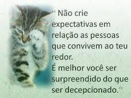 #expectativas #nao #crie #pessoas #surpreendido #decepcionadp Expectativas