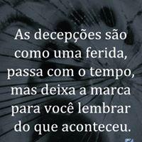 #desepcoes #ferida #passa #tempo Passa com tempo