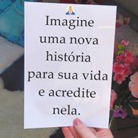 #imagine #nova #historia #sua #vida Imagine