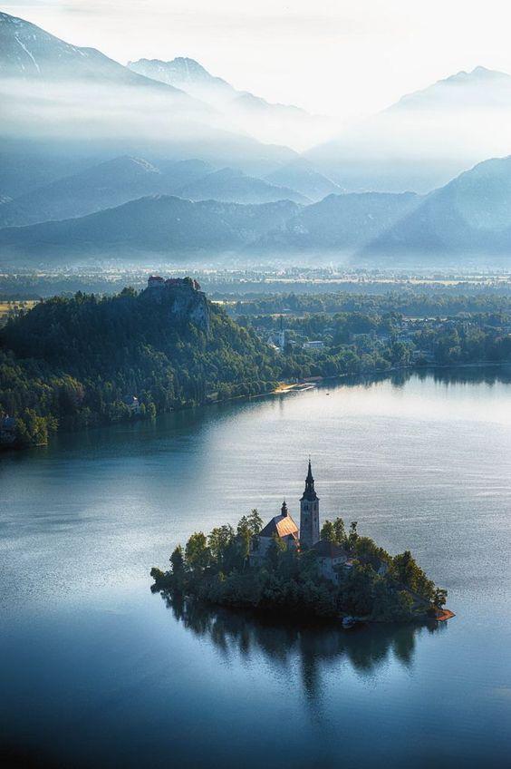 #bled #slovenia #beautiful #destination #travel Beautiful Destination - Bled, Slovenia