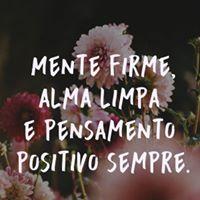 #mente #firme #alma #limpa #pensamento Mente firme