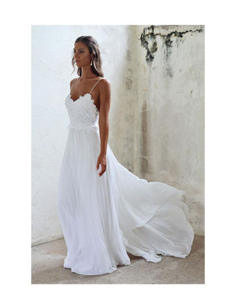 #modern #romantic #dress #wedding Wedding Inspo - Modern And Romantic