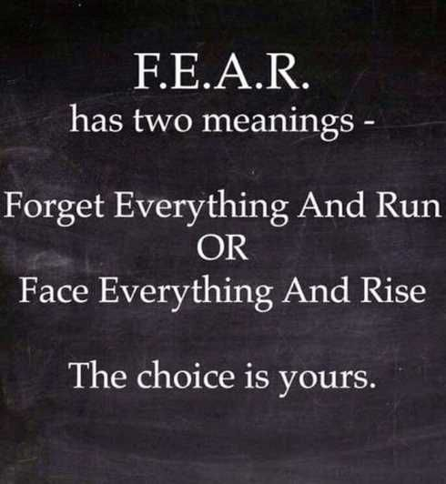 #face #fear #rise Face And Rise