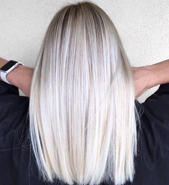 #hair #inspo #white Hair Inspo