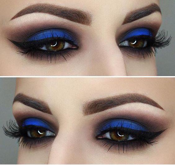#brown #colour #makeup Perfect Colour - For Brown Eyes