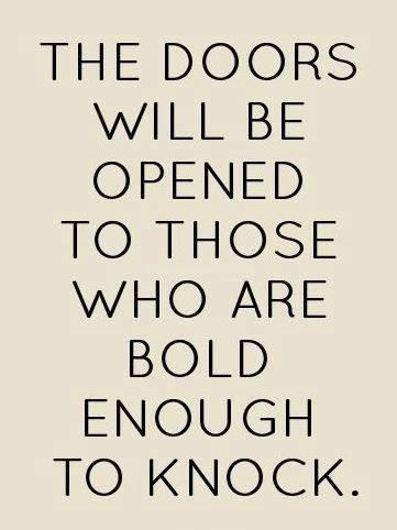 #bold #doors #knock Bold
