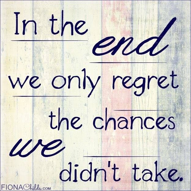 #end #chances #remember In the end