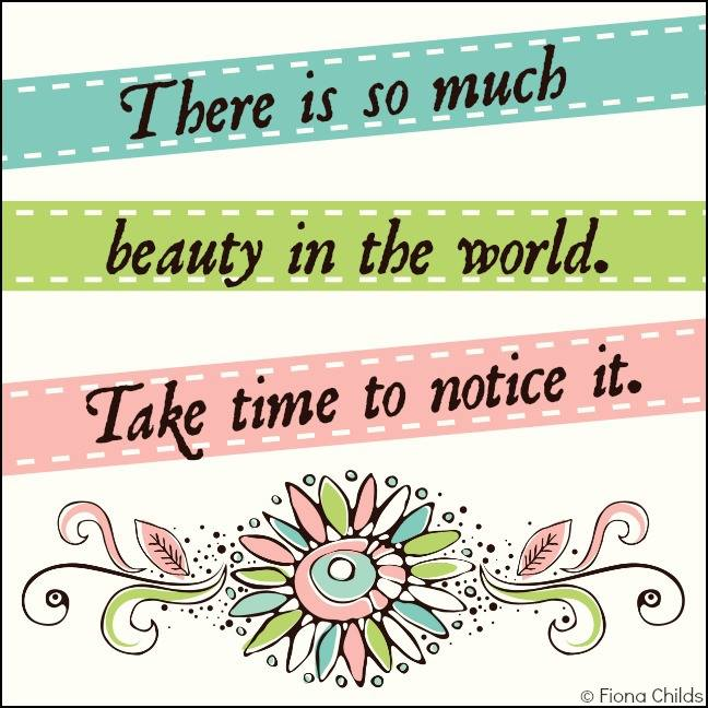 #beauty #world #notice Take time
