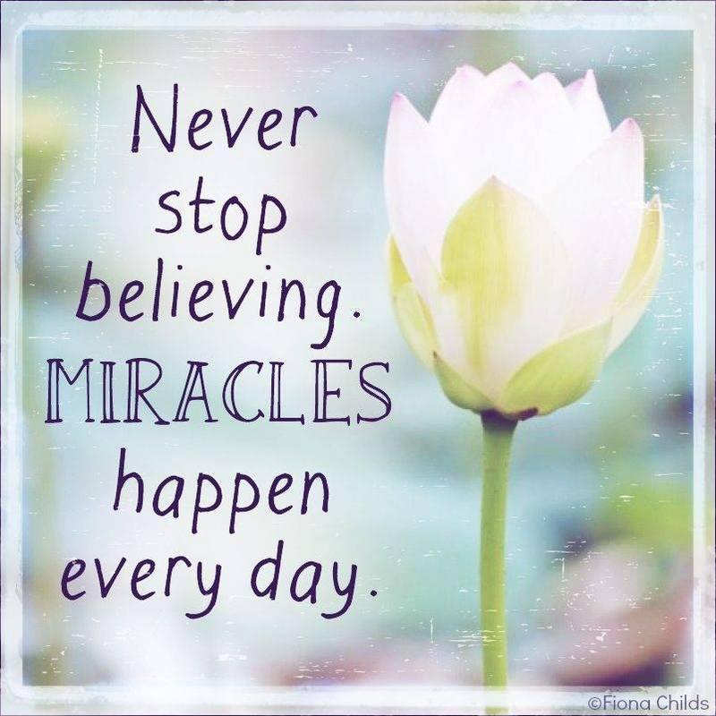 #never #stop #believe Believe
