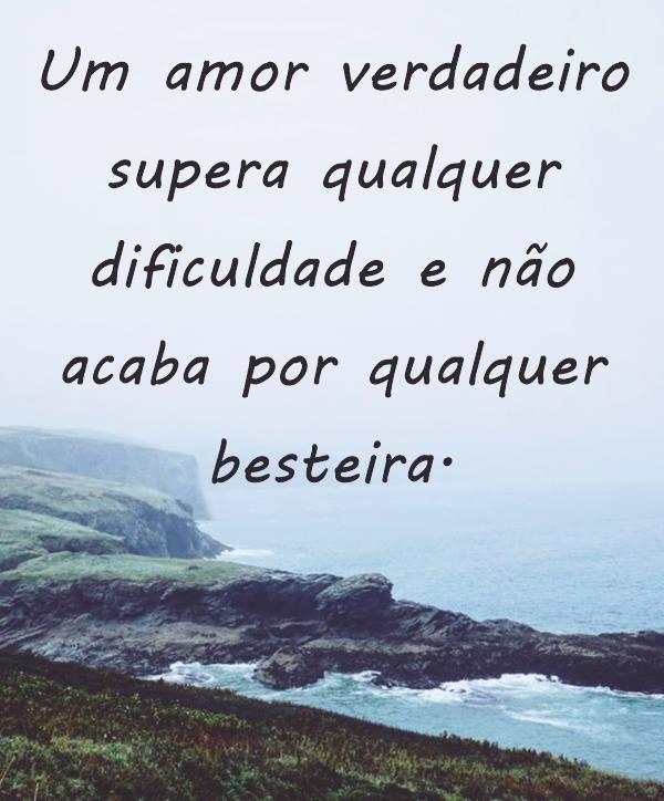 #amor #supera #besteira Um Amor