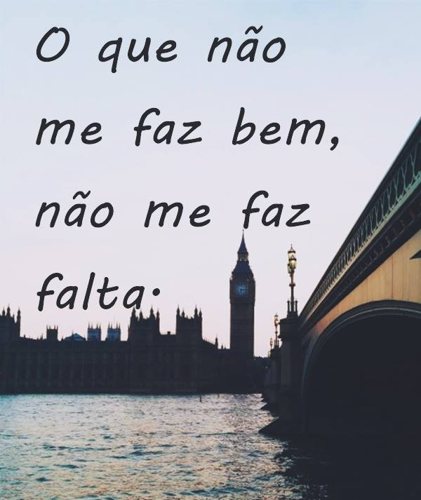 #não #faz #falta Não me faz falta