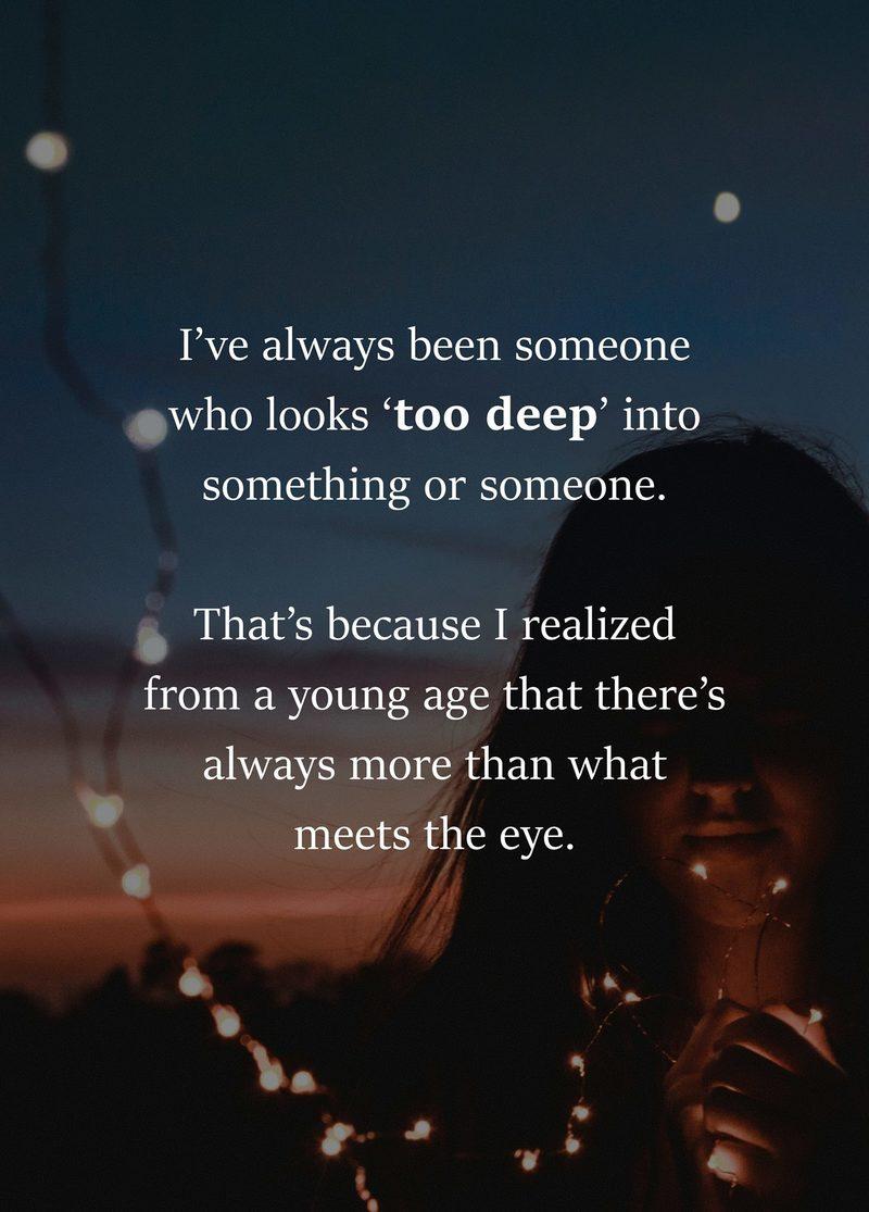 #More #than #what #meets #eye More than what meets the eye