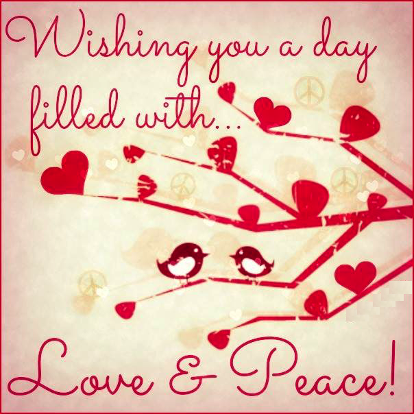 #peace #love #day :)