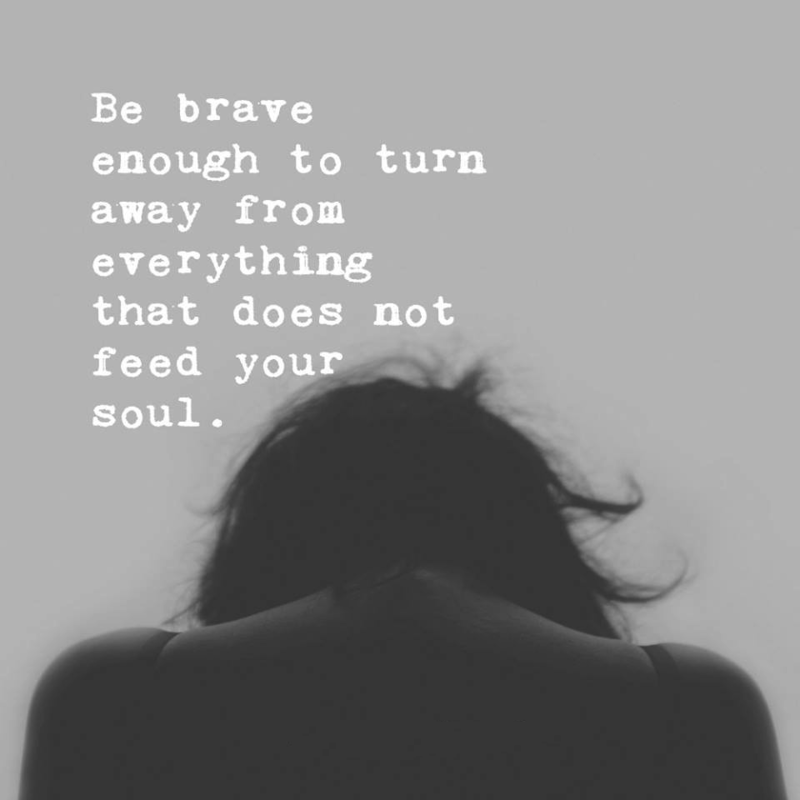 #turn #away #brave #feed #soul Turn away..