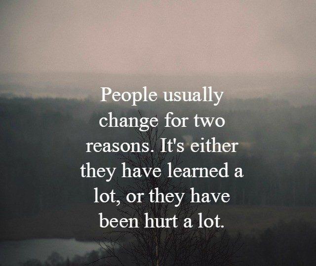 #people #change #reasons People change