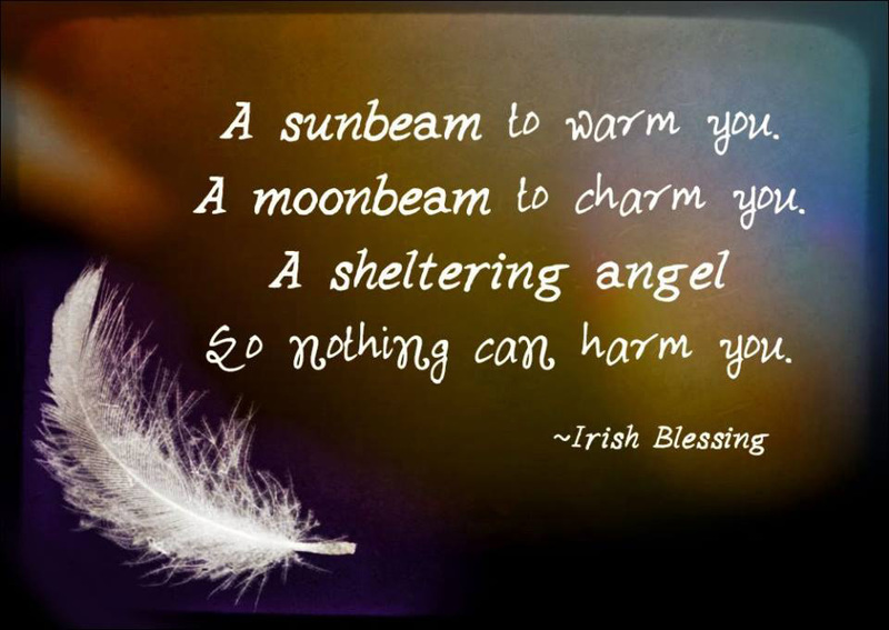 #Irish #Blessing #warm #charm #shelter Irish Blessing