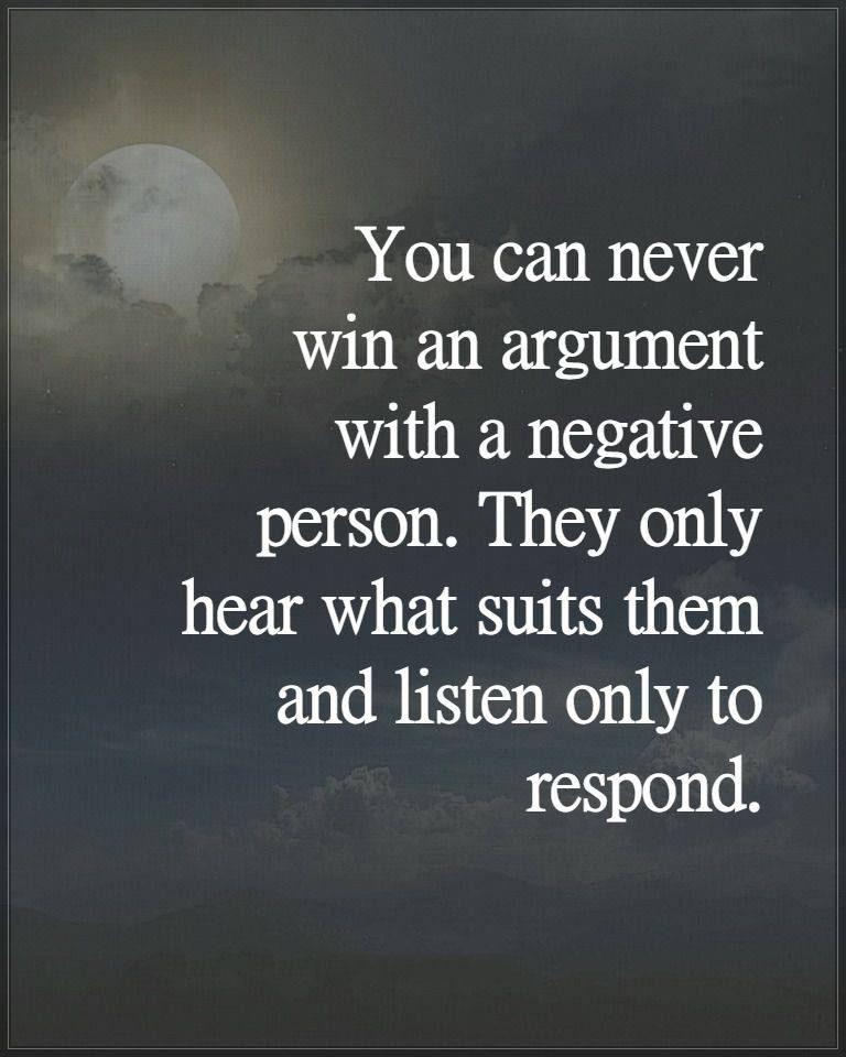 #argument #winning #negative #person #listen Argument
