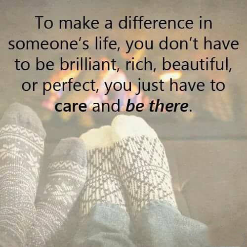 #make #difference #life To make a difference