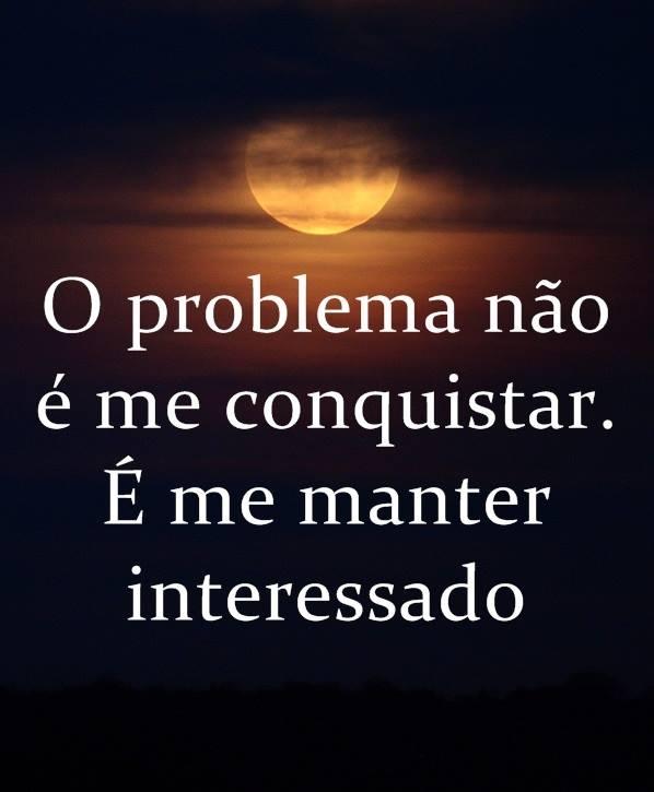 #problema #manter #interessado O problema