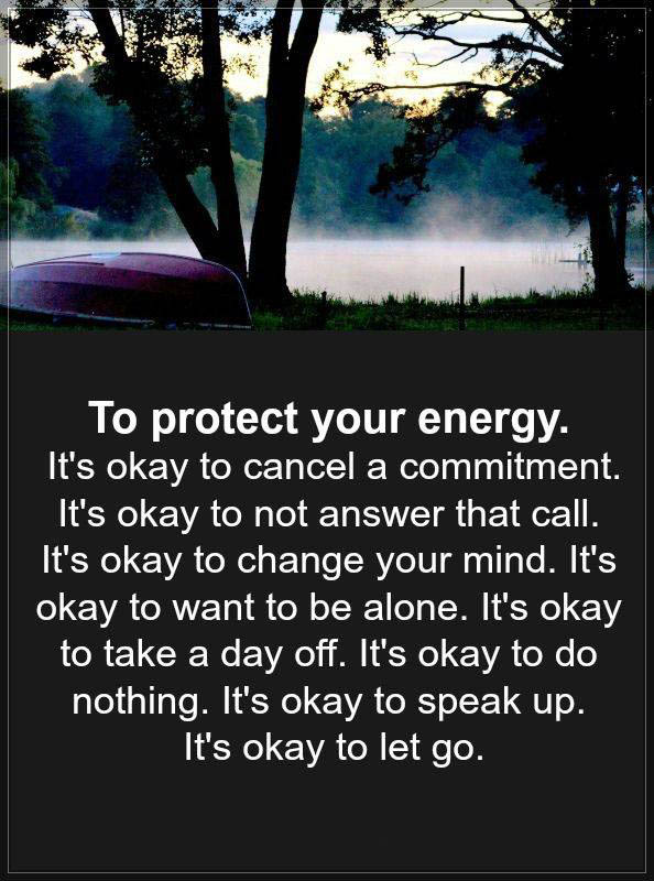 #protect #cancel #change #okay #letgo It is okay