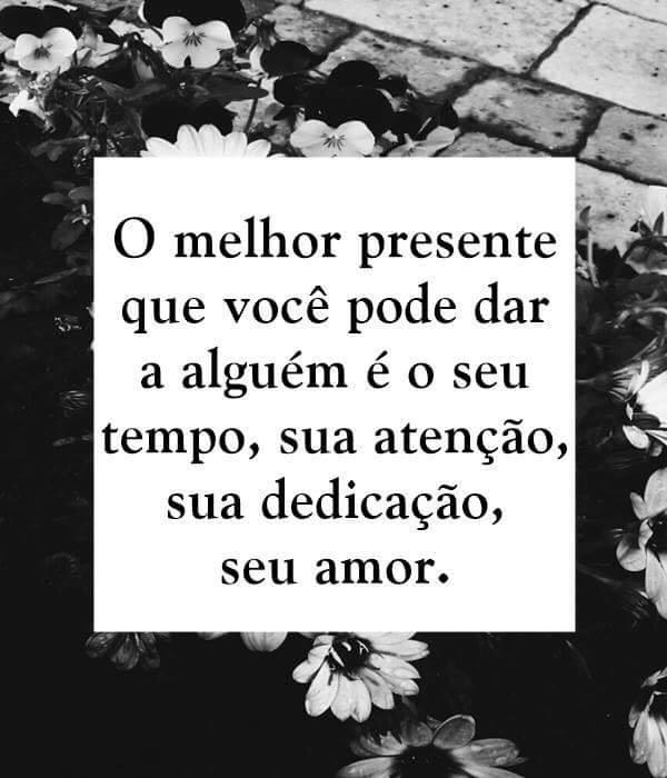 #melhor #presente #você #pode #alguém O melhor presente que você pode dar a alguém.