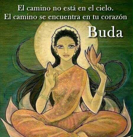 #el-cmaino #buda #corazon El camino...
