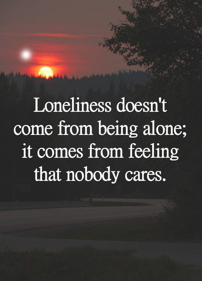 #loneliness #come #being #alone Loneliness doesn