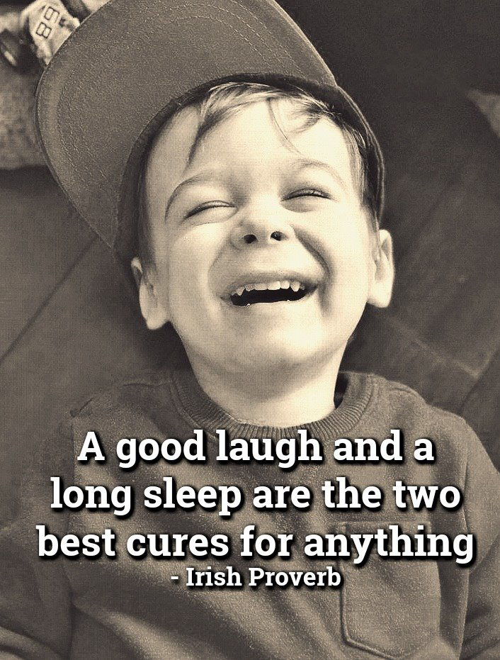 #best #cure #sleep #laugh Best cure