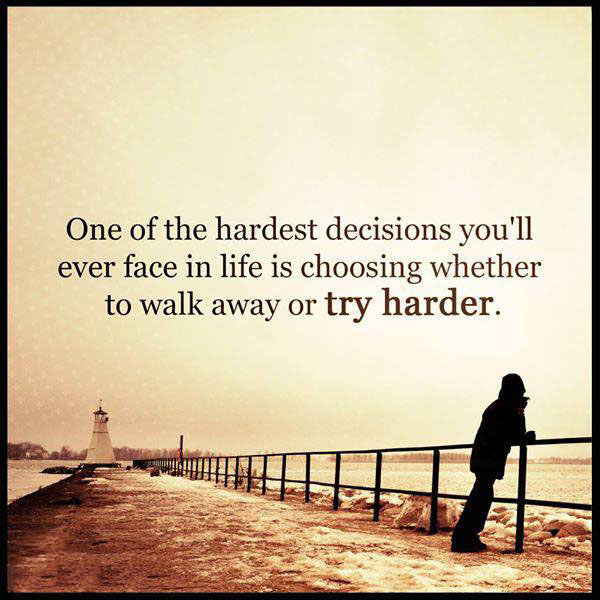 #Hardest #decisions #harder #try Hardest decisions