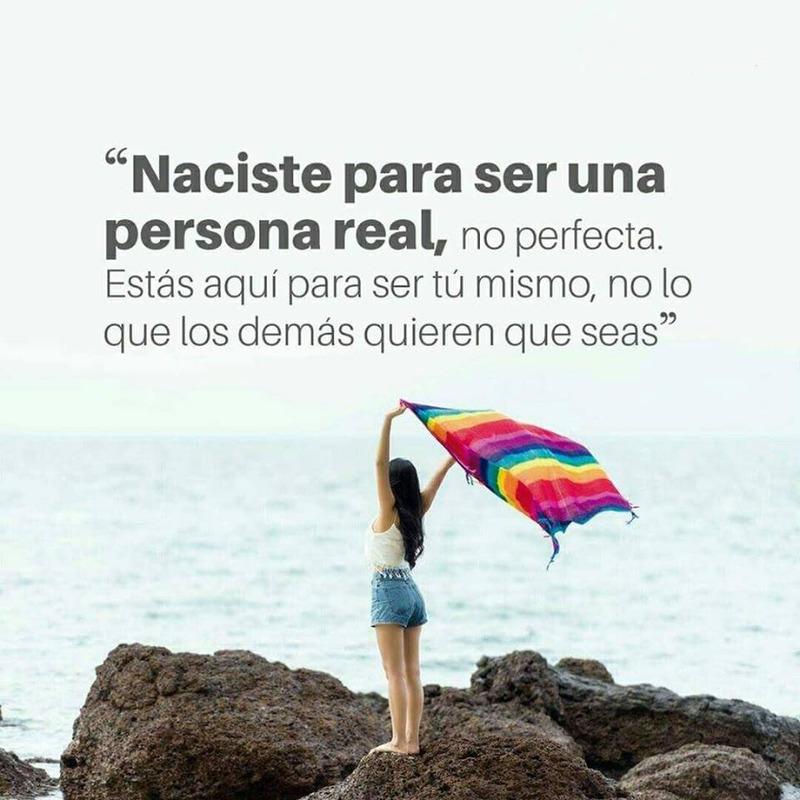 #Naciste #para #persona #real Naciste para ser una persona real