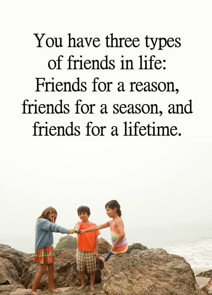 #types #friends #life #reason #season #lifetime Types of friends in life