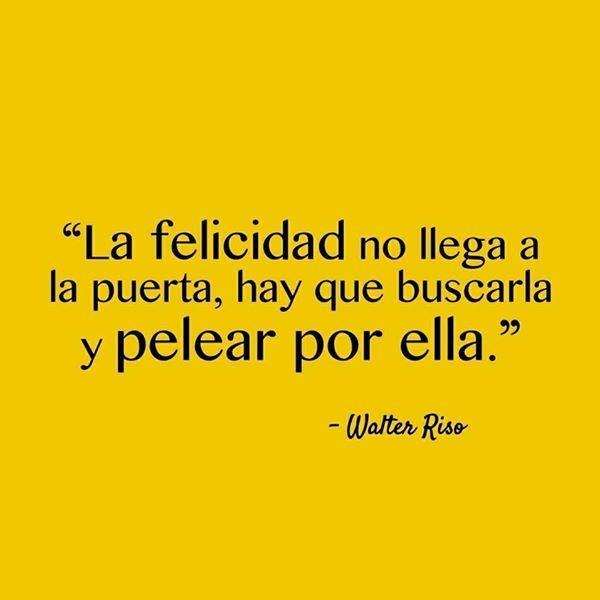 #felicidad #llega #puerta La felicidad no llega a la puerta