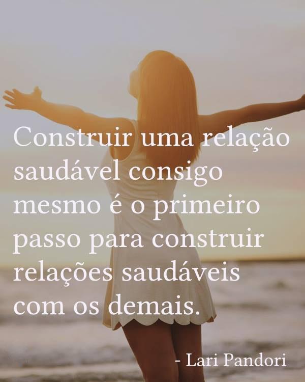 #Construir #relação #saudável Construir uma relação saudável consigo mesmo...