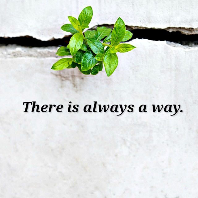 #There #always #way There is always a way...